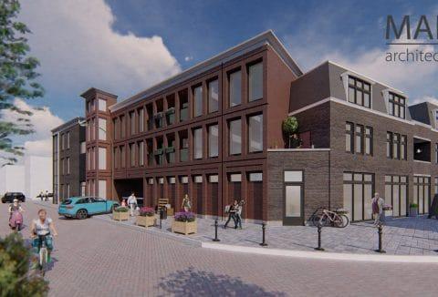 Nieuwbouwproject Enschede , moderne appartementen