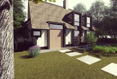 Moderne woning op het 't Vaneker te Enschede