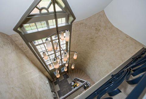 trappenhuis moderne villa