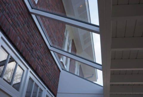 modern dakraam aanbouw