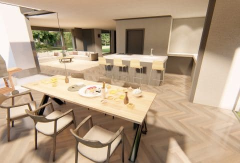 interieur moderne woning