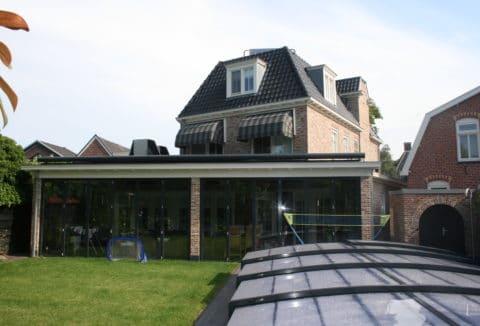 ontwerp serre villa overijssel