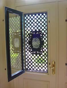 Voordeur detail